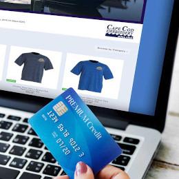 Bass River Marina online store button
