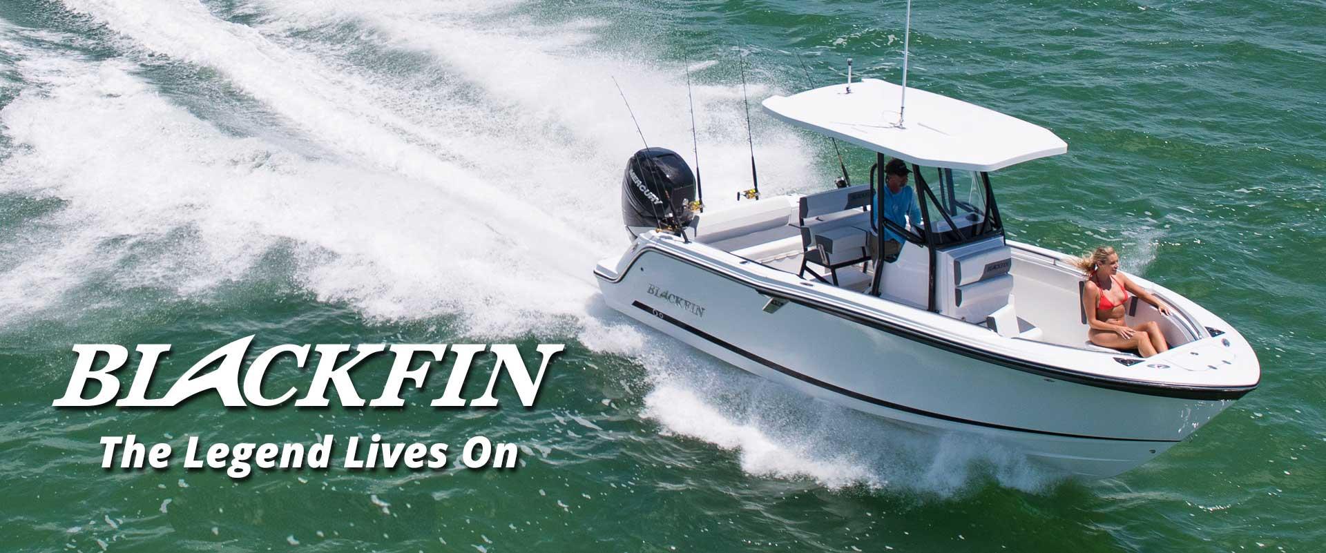 Blackfin boats center console boat
